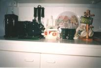 Kitchen in a flat, 1997