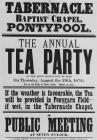 Tabernacle Baptist Chapel Tea Party Poster,...