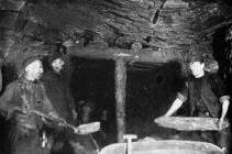 Repairers at Lewis Merthyr Colliery