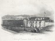 Interior of Beaumaris Castle & Baron Hill