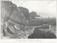 The rope bridge near the light-house, Holyhead