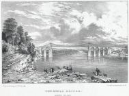 The Menai Bridge, north Wales