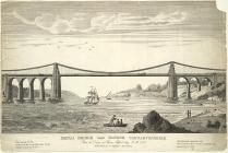 Menai Bridge, near Bangor Carnarvonshire