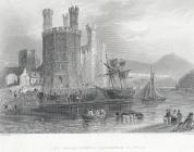 The Eagle Tower, Carnarvon Castle
