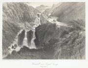 Waterfall, near Capel Curig (Pont Cyfing)