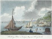 Bathing place in Cardigan Bay, near Aberystwith