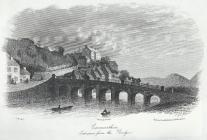 Carmarthen, Entrance from the Bridge