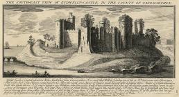 The South-East View Of Kidwelly-Castle, In The...