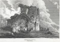 Denbigh castle, north Wales