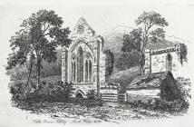 Valle Crucis abbey, north Wales