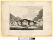 The bridge at Llanrwst in Denbighshire