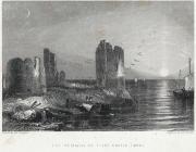 The Remains Of Flint Castle, (1840)