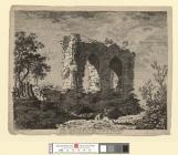 A View of part of Hawarden Castle in Flintshire