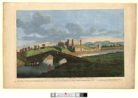 A north west view of Rhuddlan Castle, in Flint...