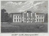 Cardiff castle, Glamorganshire