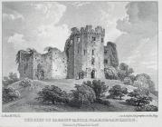 The keep of Cardiff castle, Glamorganshire