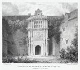 Porch at Beaupre, Glamorganshire