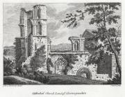 Cathedral church Landaff, Glamorganshire