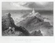 The Mumbles rocks and lighthouse