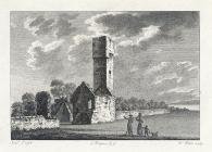 The watch tower near St. Donat's castle,...