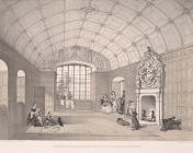 Drawing room, Llantrithyd house, Glamorganshire
