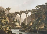 Lantrissent bridge on the river Taaf, south Wales