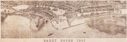 Barry Docks, 1901