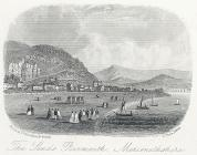The sands, Barmouth, Merionethshire