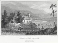 Llanelltyd Church, near Dolgellau, Merionethshire