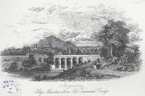 Abergavenny, Holy Mountain from Old Tramroad...