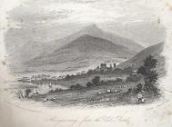 Abergavenny, from the Usk road