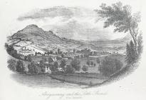 Abergavenny and the Little Skirrid, from Llwynddu