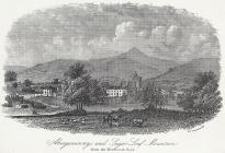 Abergavenny, and Suger Loaf mountain from the...