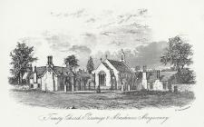 Trinity church, Parsonage & the Almshouses,...