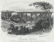 Crumlin viaduct on the Newport, Abergavenny &...