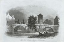 The old Monnow bridge, Monmouth