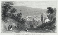 Monmouth from the old road to Hereford