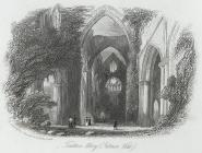 Tintern Abbey, interior view