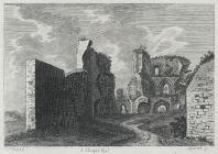 Abergavenny Castle, Monmouthshire, plate I