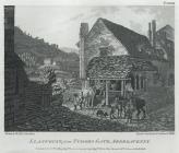 Llanfoyst, from Tudors Gate, Abergavenny