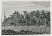 Monmouth Castle, Church, &c.