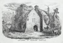 Gateway of Penhow Castle