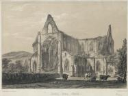 Tintern Abbey Church. View from the N.E