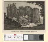 West View of Chepstow Castle