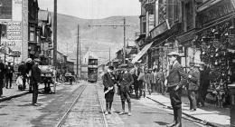 Dunraven Street, Tonypandy, about 1914