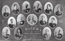 The Welsh rugby team that defeated New Zealand,...