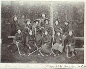 Aberayron County School hockey team, 1904