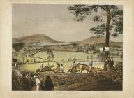 'Abergavenny Steeplechase', gan Charles Denton,...