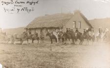 Cwm Hyfryd school, Chubut, 1909