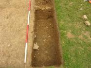 Middleton Hall Excavation - Trench II (4) 2011